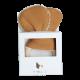 Anneau de dentition - petit ourson brun