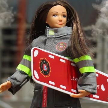 Tenue pour Lammily : Pompier