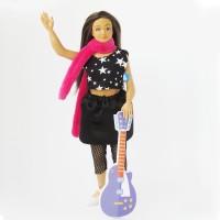 Tenue pour Lammily : Rock star