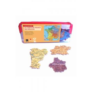 """Puzzle """"carte de France des régions"""""""