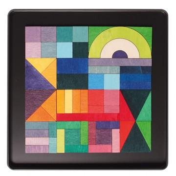 """Puzzle magnétique """"Géo-graphique"""""""