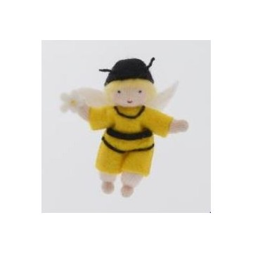 Enfant abeille jaune