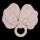 Anneau de dentition -papillon mauve