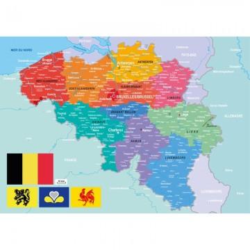 """Puzzle """"carte de la Belgique"""""""