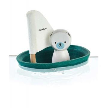 Bateau ours polaire Plan Toys