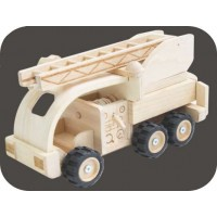 Camion de pompier Edition collector Plan Toys