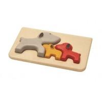 """Mon premier puzzle """"chien"""" Plan Toys"""
