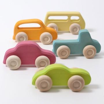 5 véhicules Slimline