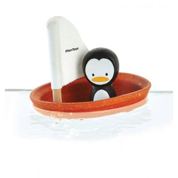 Bateau pingouin Plan Toys