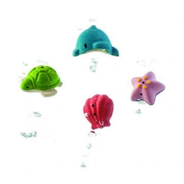 Mes animaux marins de bain