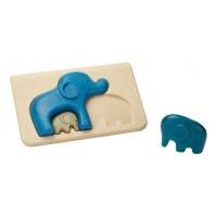 """Mon premier puzzle """"éléphant"""" Plan Toys"""