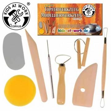 Outils pour la poterie ou le modelage