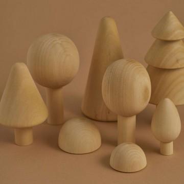 Forêt-bois naturel