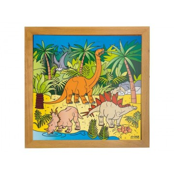 "Puzzle ""dinosaures"""