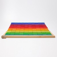 Escalier à compter multicolore grand modèle