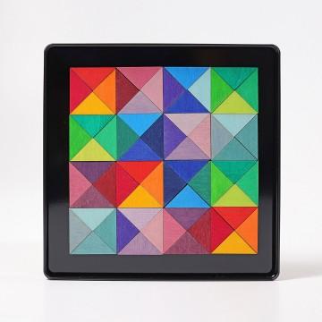 "Puzzle magnétique ""Triangles"""