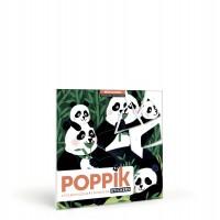 "3 puzzles stickers "" Wild animals"""