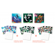 "3 puzzles stickers "" Wild animals"""