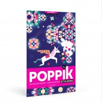 Poster géant+1000 stickers : 6-12 ans Constellations