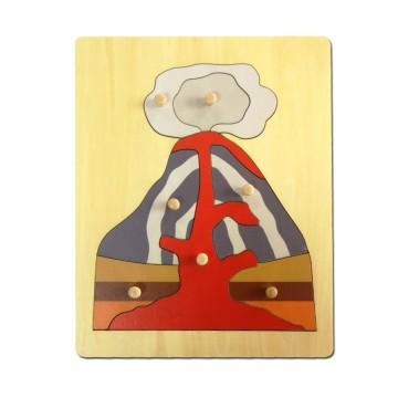 Puzzle du volcan