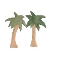 petites figurines : 2 palmiers