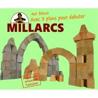 Blocs Millarcs - 40 pièces