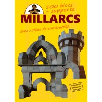 Blocs Millarcs - 100 pièces