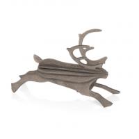 Grand renne gris