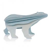 Grand ours polaire bleu clair