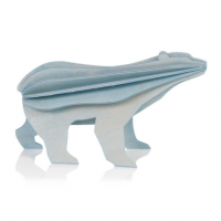 Ours polaire bleu clair