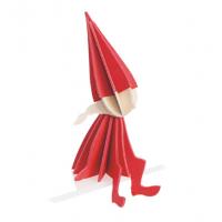 Elfe rouge - grand modèle