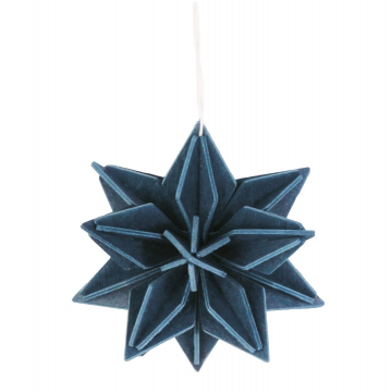Etoile bleu foncée - petit modèle