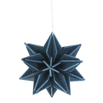 Etoile bleu foncée - grand modèle