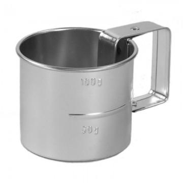 Tasse pour mesurer la farine