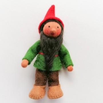 Gnome du houx-peau mate