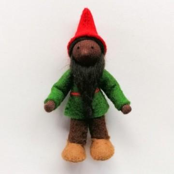 Gnome du houx-peau noire