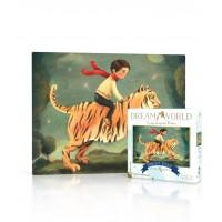 """Mini puzzle """"Dream Tiger"""" - New york puzzle company"""