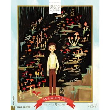 "Puzzle ""Mushroom boy"" - New york puzzle company"