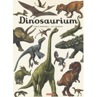Dinosaurium de Chris Wormell et Lily Murray