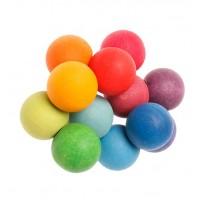 Hochet perles multicolores