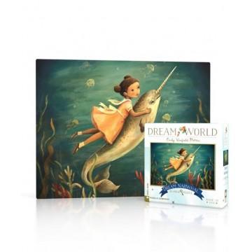 """Mini puzzle """"Dream Narval"""" - New york puzzle company"""