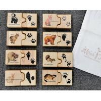 """Puzzle """"Empreintes d'animaux"""""""