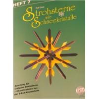 """Kit """"étoiles en paille"""" - 6 branches"""
