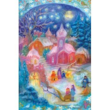 "Grand calendrier de l'Avent "" Noël des enfants"""