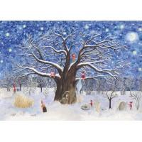 """Calendrier de l'Avent """" L'arbre de Noël"""""""