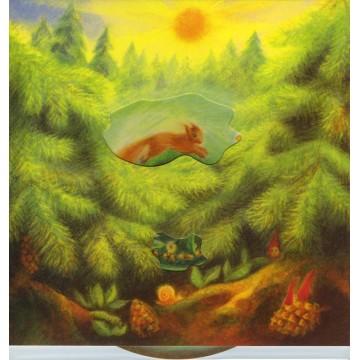 """Carte animée """"la forêt"""""""