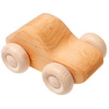 1 voiture bois naturel
