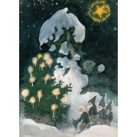 """Carte """"le Noël des Nains"""""""