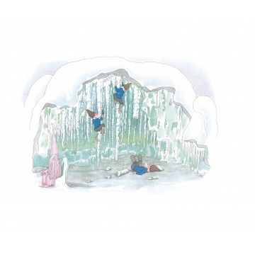 """Carte """"Dans la grotte gelée"""""""