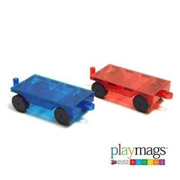 Playmags-ensemble de deux voitures